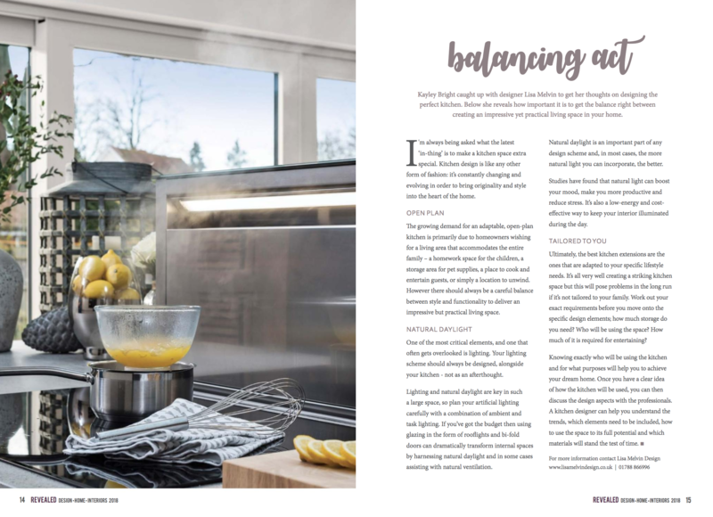 kitchen design revealed magazine