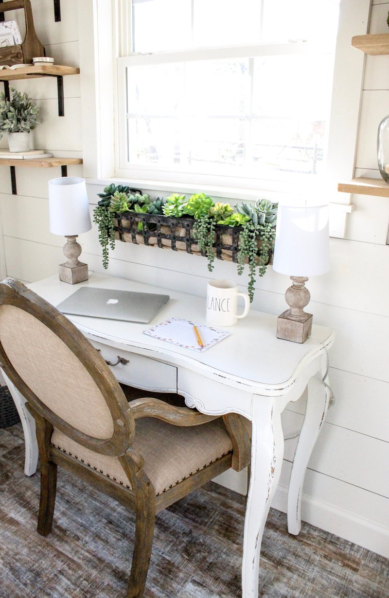 CottonStem.com she shed home office decor farmhouse