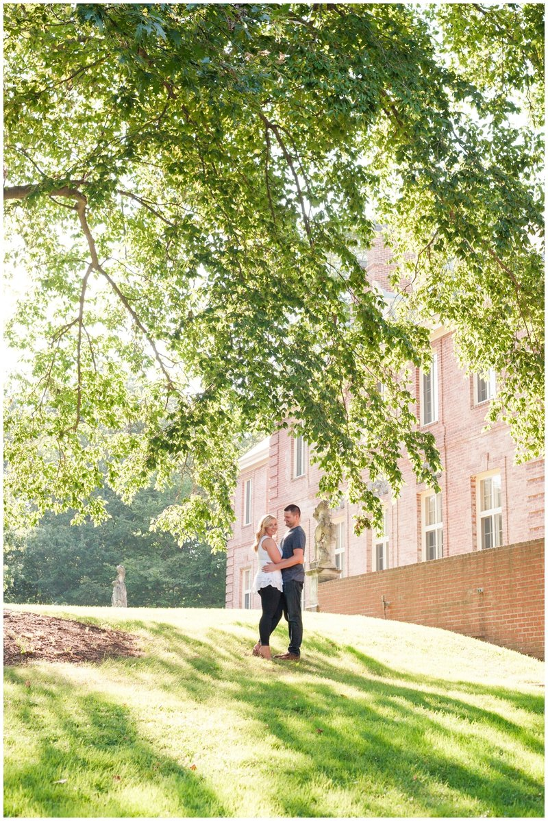Mansfield Ohio Engagement Session Kingwood Garden Center_0026