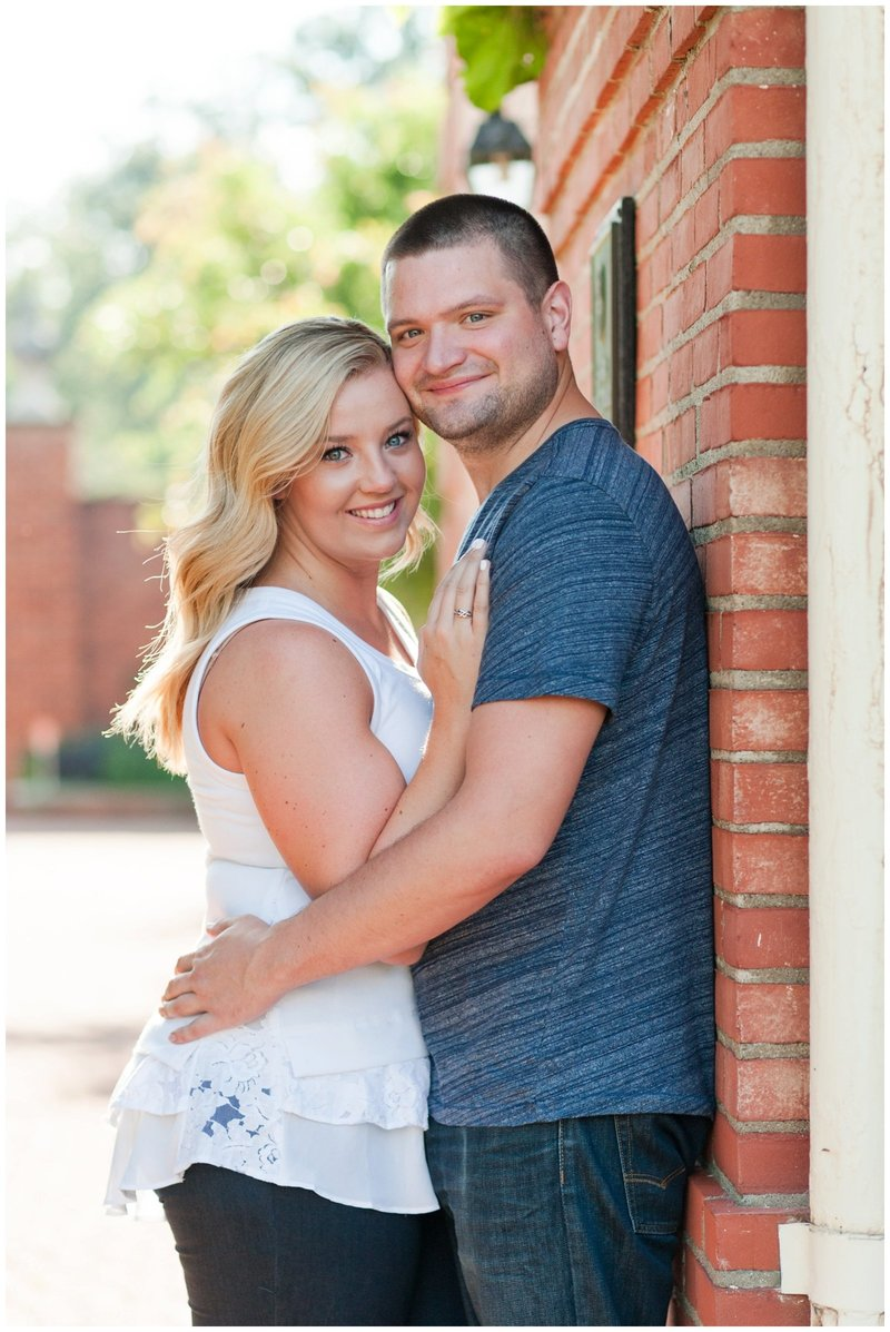 Mansfield Ohio Engagement Session Kingwood Garden Center_0012