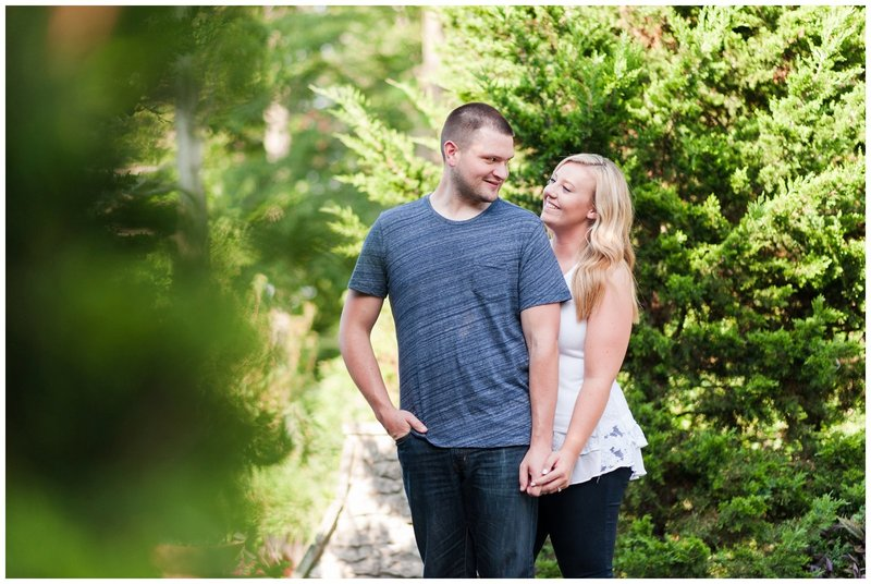 Mansfield Ohio Engagement Session Kingwood Garden Center_0010