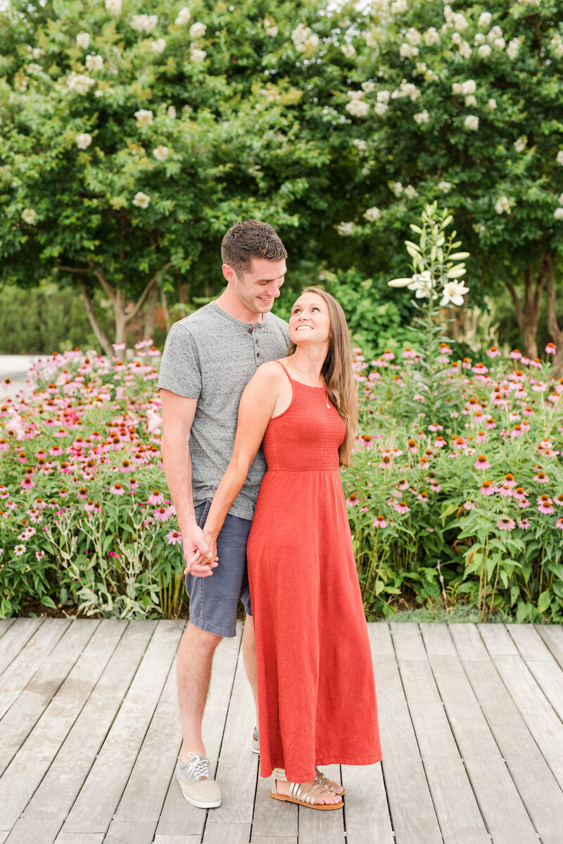 Richmond Summer flower garden family photography-16