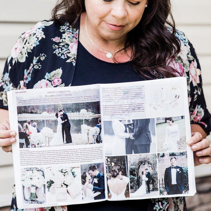 Published Atlanta Wedding Photographer