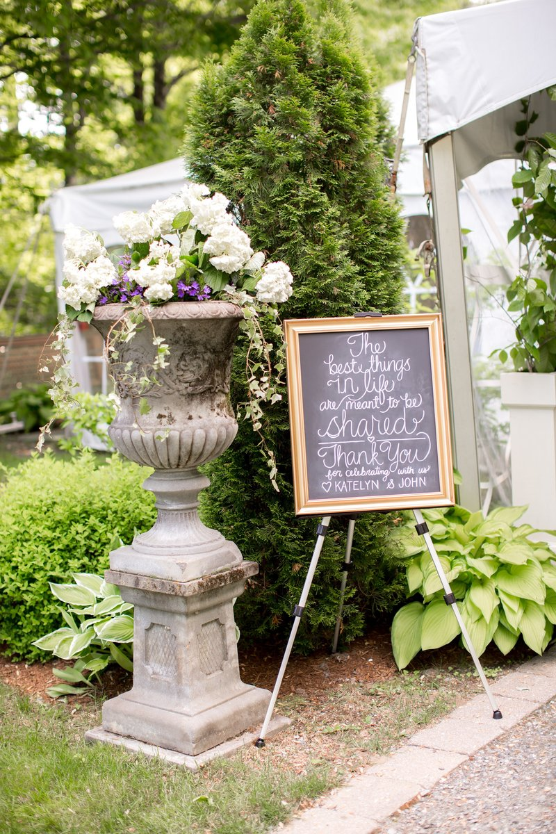 Tented Reception photo by Idalia Photography
