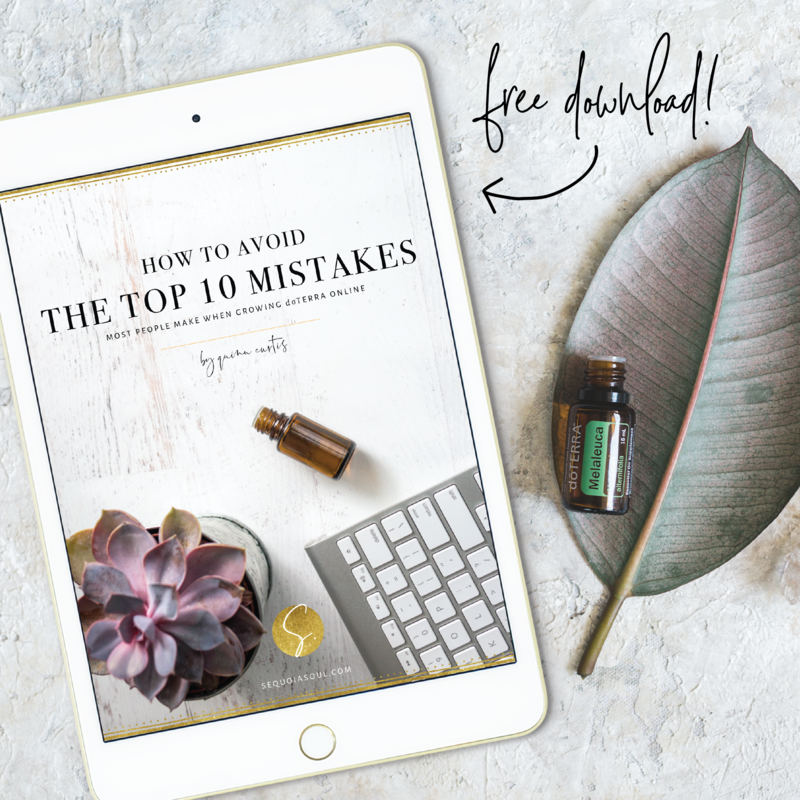 How to Avoid the Top 10 Mistakes with Growing doTERRA Online - Marketing Graphics-01