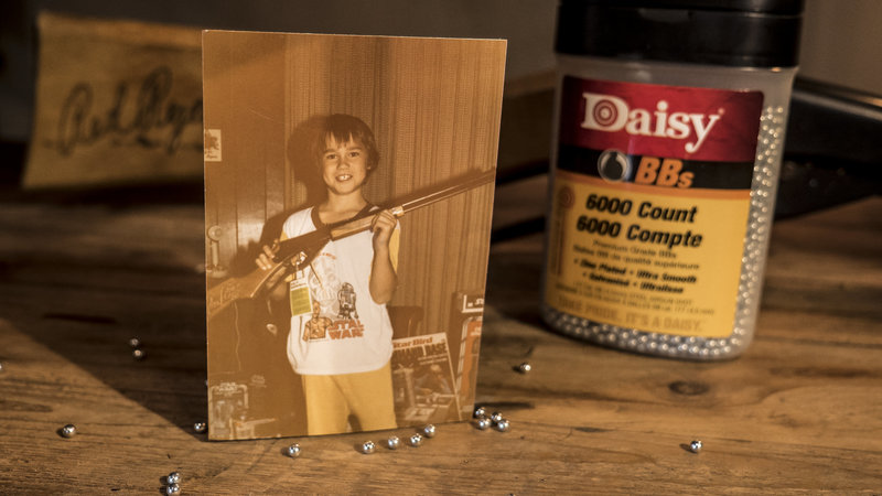 Jason Miller and his love for the Red Ryder Daisy BB gun.