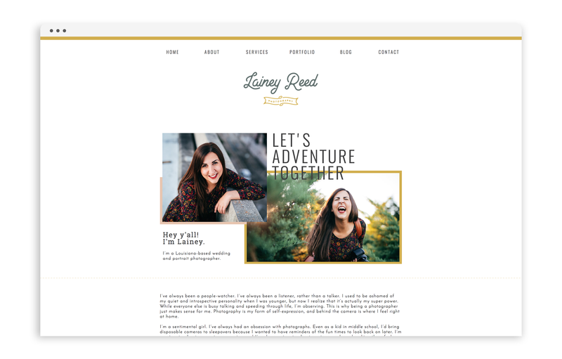 With Grace and Gold - Branding, Web Design for Creative Women in Business - Education for Designers - Showit Designers