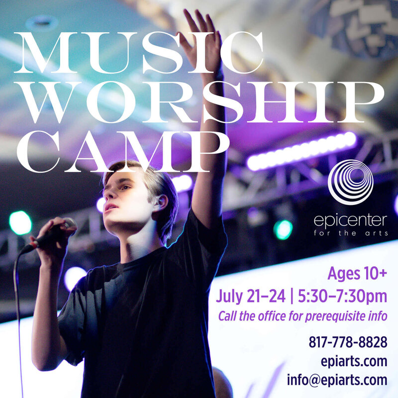 Music Worship Camp 2020 graphic