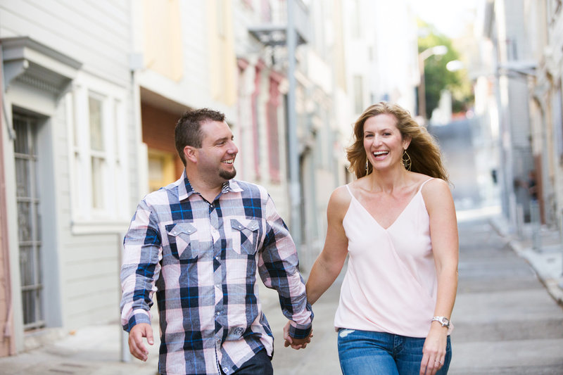North Beach Engagement Session, Engaged, Engagement Photography, Jennifer Baciocco Photography