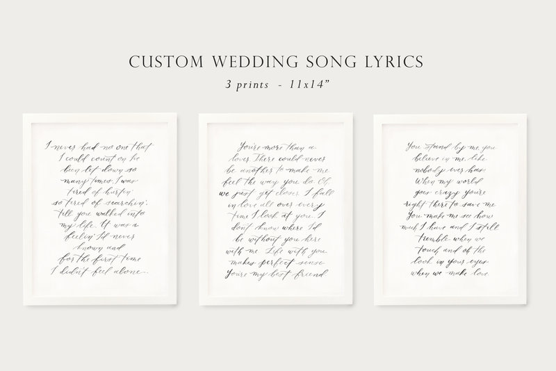 weddingsonglyrics_gallerywall