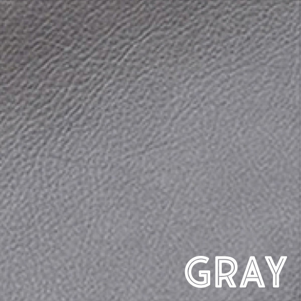 Gray Leather