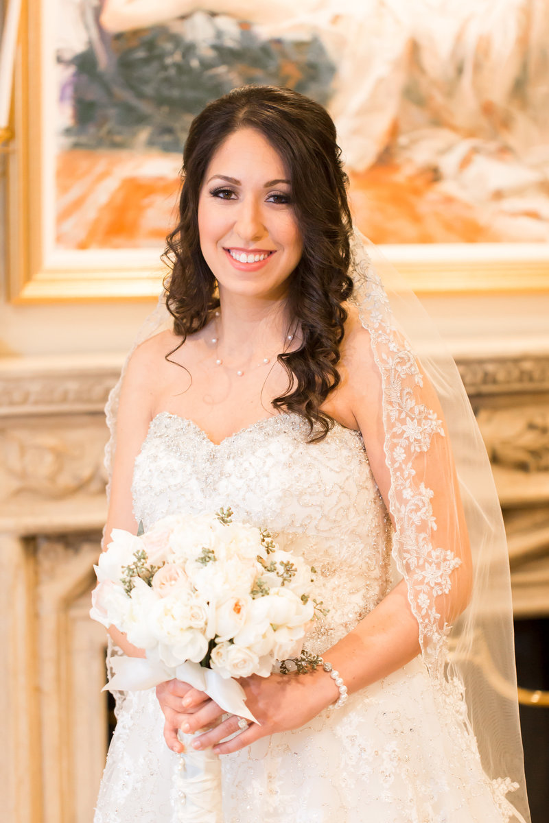 Bridal Portrait at Nanina's in the Park