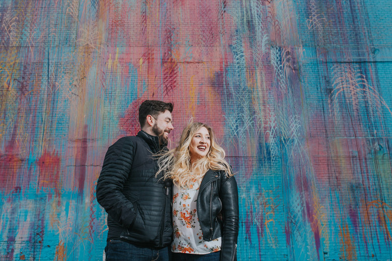 Engagement Photography in Downtown Chicago Illinois. Photo by Adore Wedding Photography