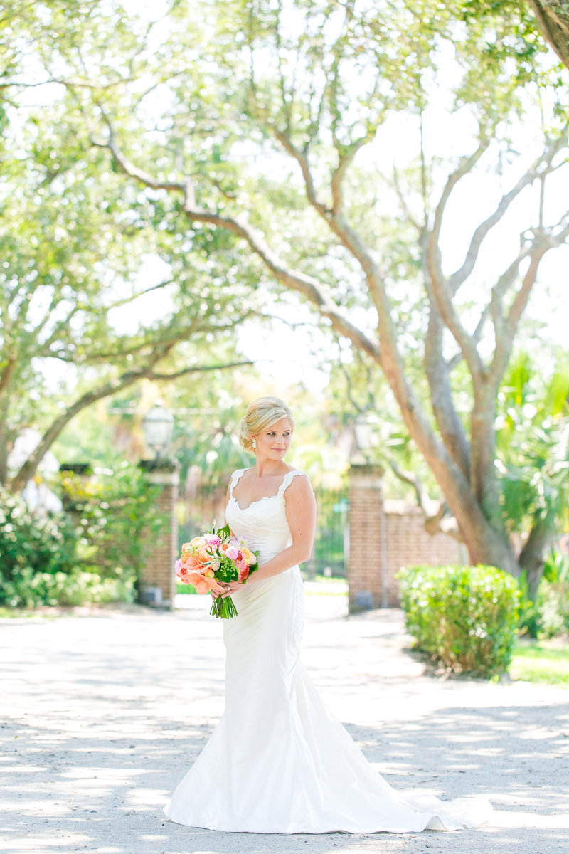 Lowndes Grove Plantation Bridal Portraits