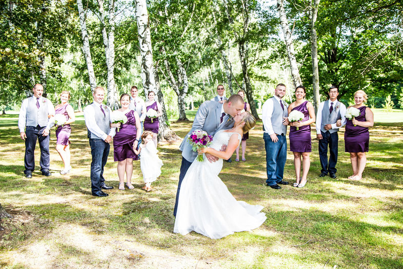 67 wedding photography bridal party portrait