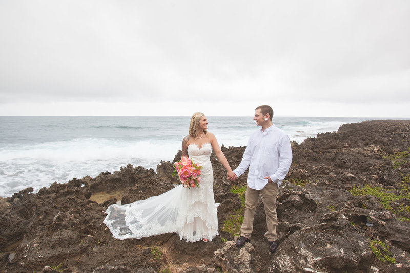 Destiny Jon MARRIED IN HAWAII-Bride Groom-0129
