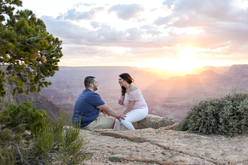 5.12.18 ML Nick and Kayla Grand Canyon Engagement Photography by Terri Attridge-46