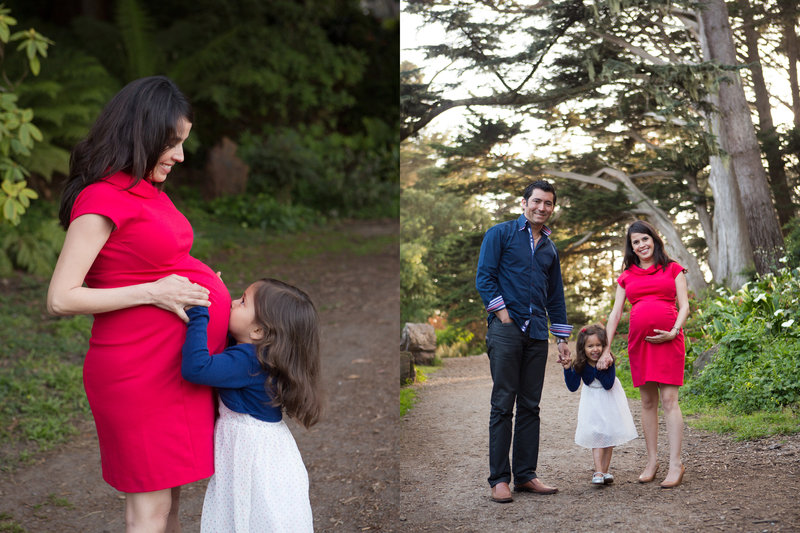 Golden Gate Park Maternity, Maternity Photography, Maternity Session, Expecting, Jennifer Baciocco Photography