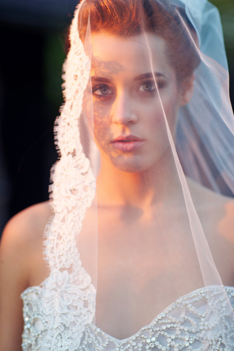 Romantic Bridal Portrait