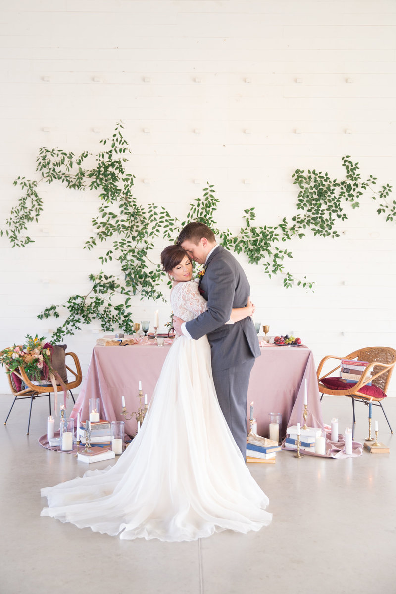 Storybook Rose and Blue Wedding Styled Shoot (132)