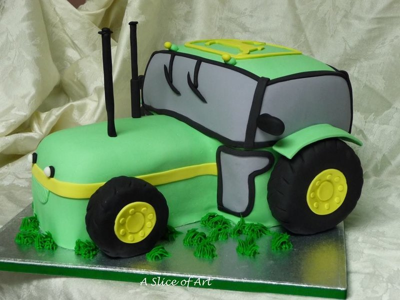 jd tractor cake
