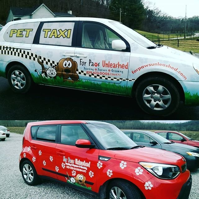 For Paws Pet Taxi Pickup