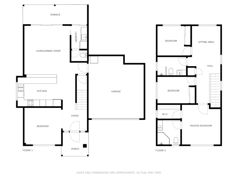 floorplan-with-a-garage