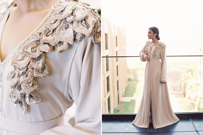 sarah hannam four seasons casablanca wedding kaftan 11