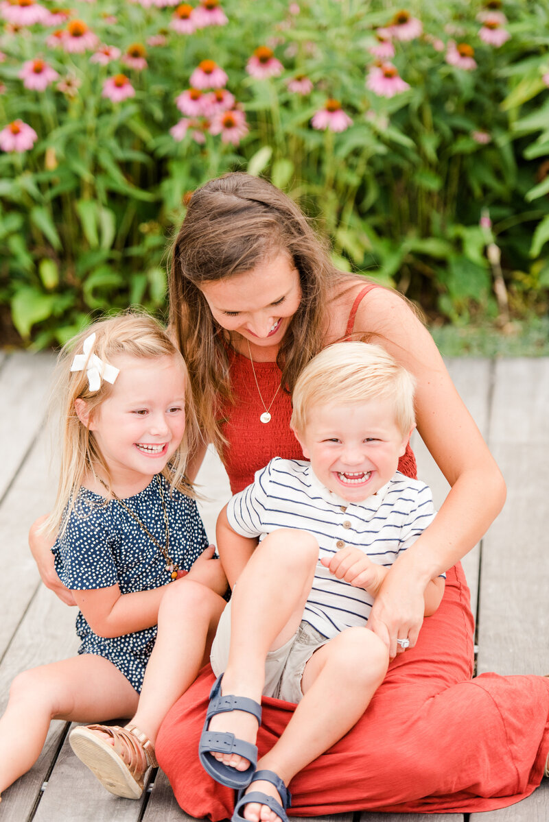 Richmond Summer flower garden family photography-8
