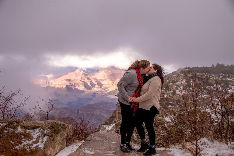 2.12.18 Engagement Photos at Grand Canyon photography by Terri Attridge-2