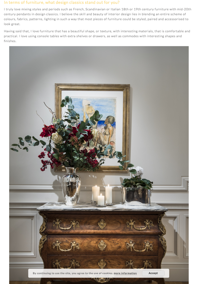 layer magazine christmas interior styling