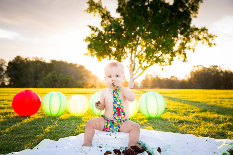Cake Smash Photographer Brisbane Anna Osetroff