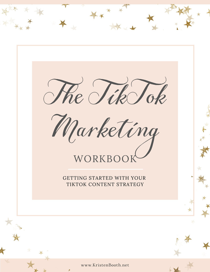 TikTok Marketing Course Workbook