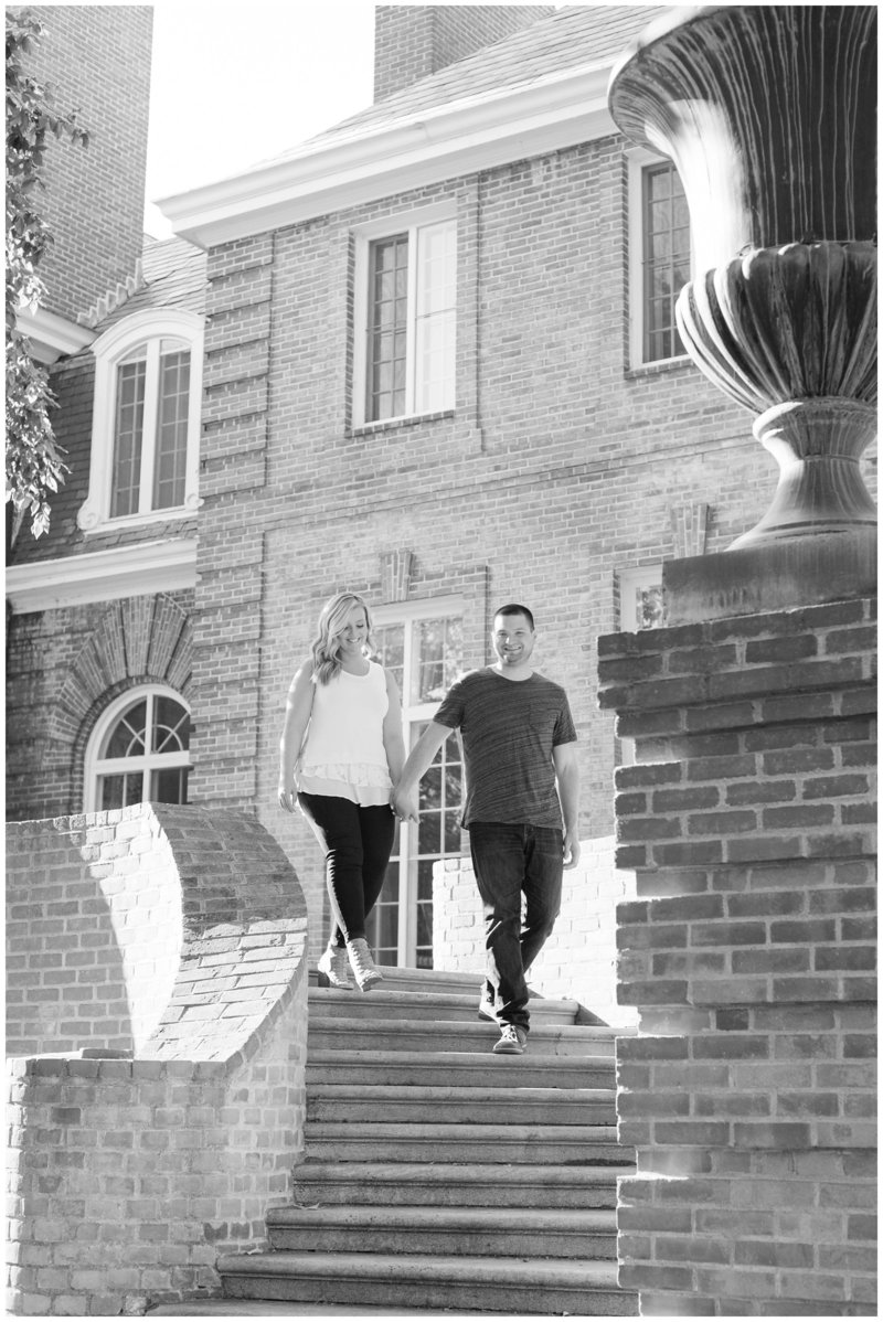 Mansfield Ohio Engagement Session Kingwood Garden Center_0021
