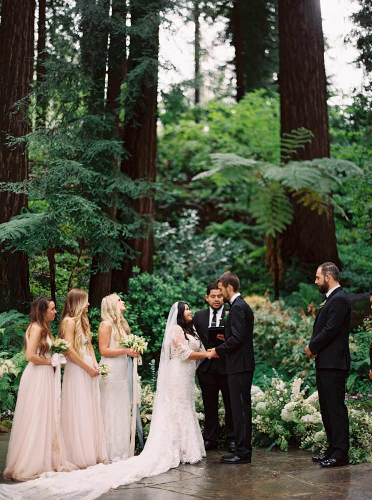 nestldown wedding in northern california on film by brushfire photography