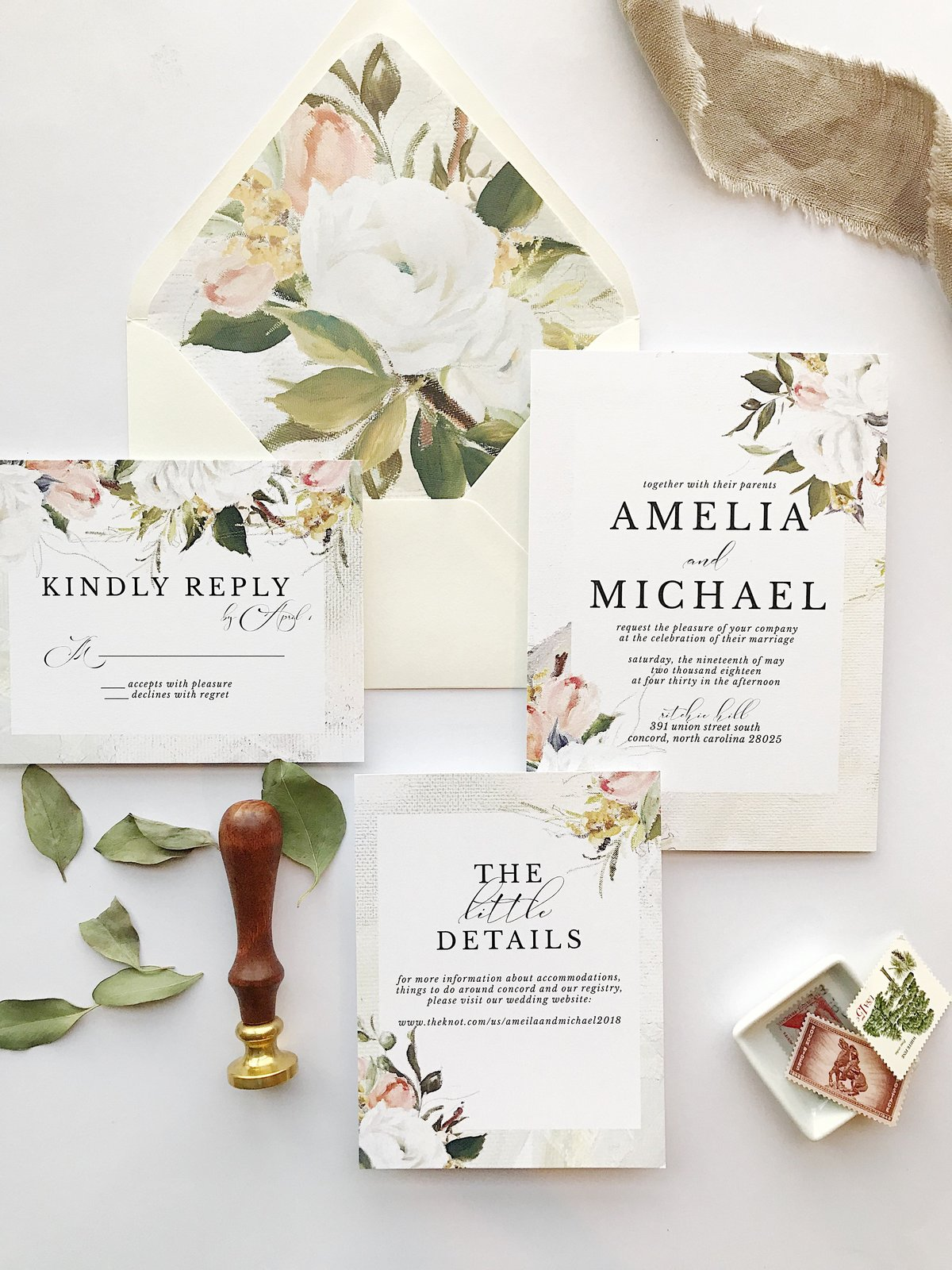 Custom Wedding Invitations in Columbus Ohio