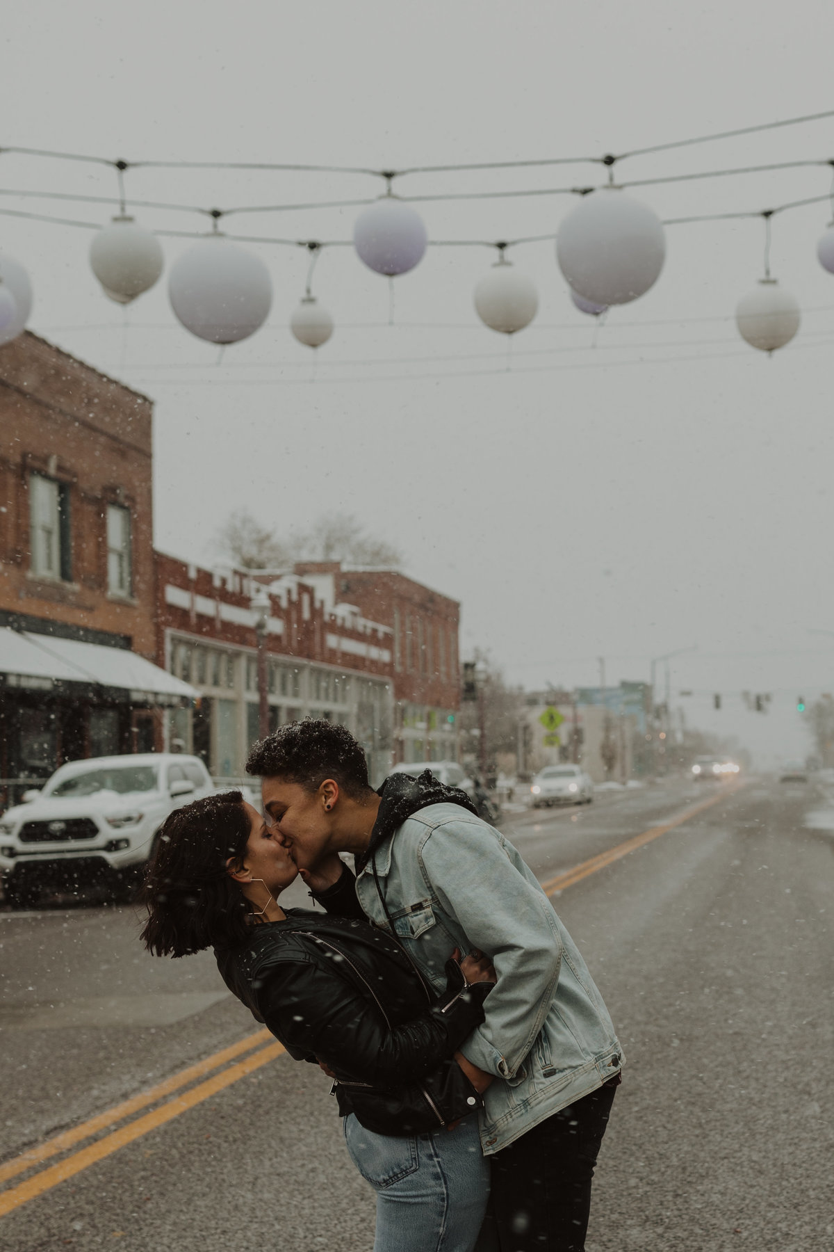 Winter Engagement Session in STL