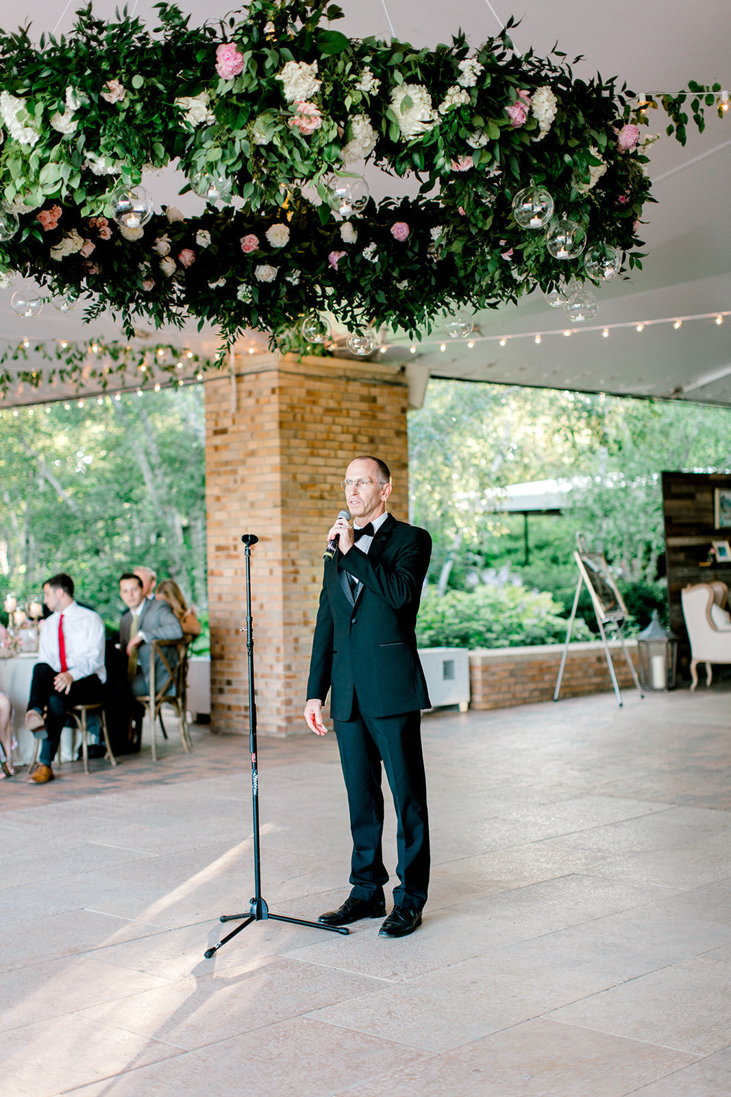 Chicago Botanic Gardens Wedding - Green and Pink Wedding_96