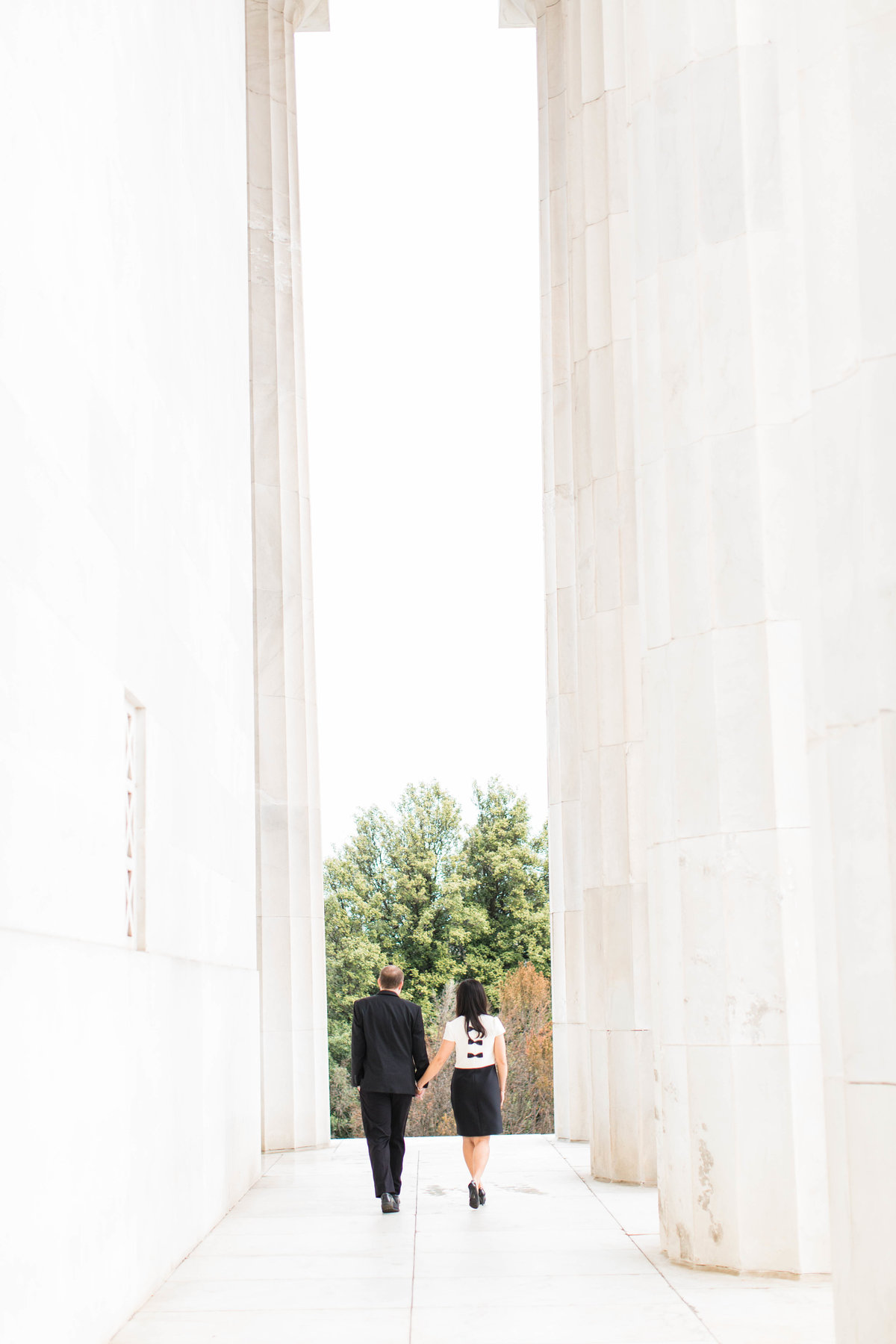 Washington DC engagement phtoography