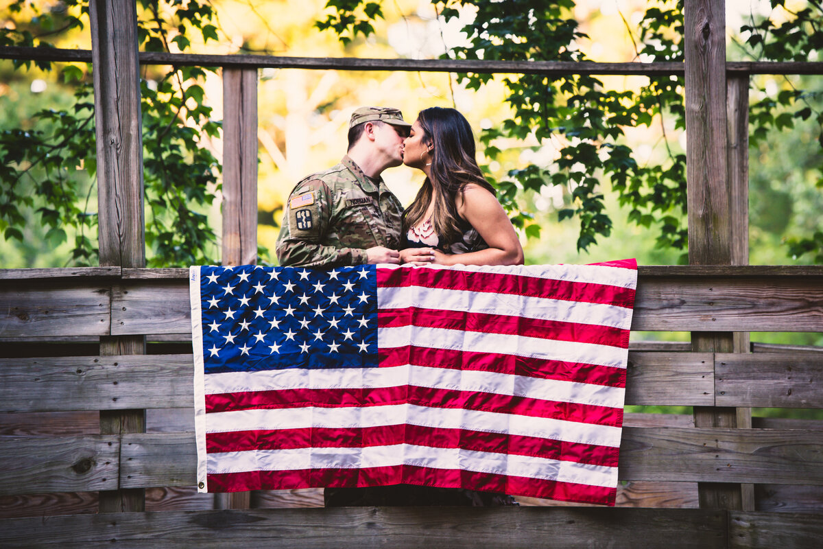 Military engagement session in New Hampshire