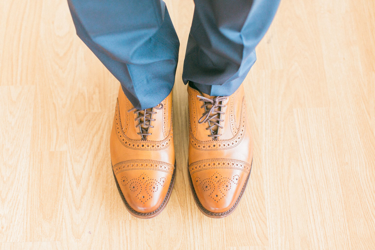 Grooms Shoes by Allen Edmonds
