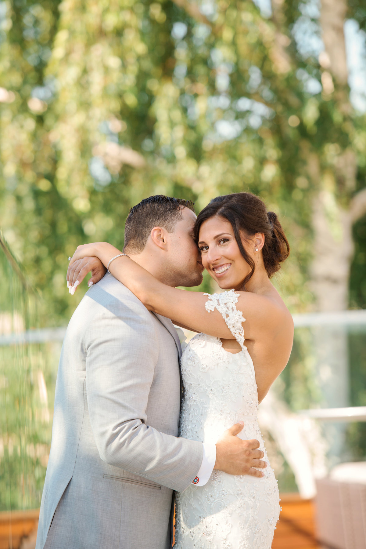 Natural light wedding photos at Harbor Club at Prime