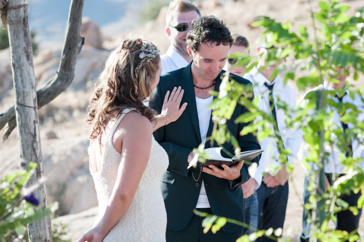 Destination Wedding Photography Joshua Tree Wedding Photography Le Haut Desert Aerie067