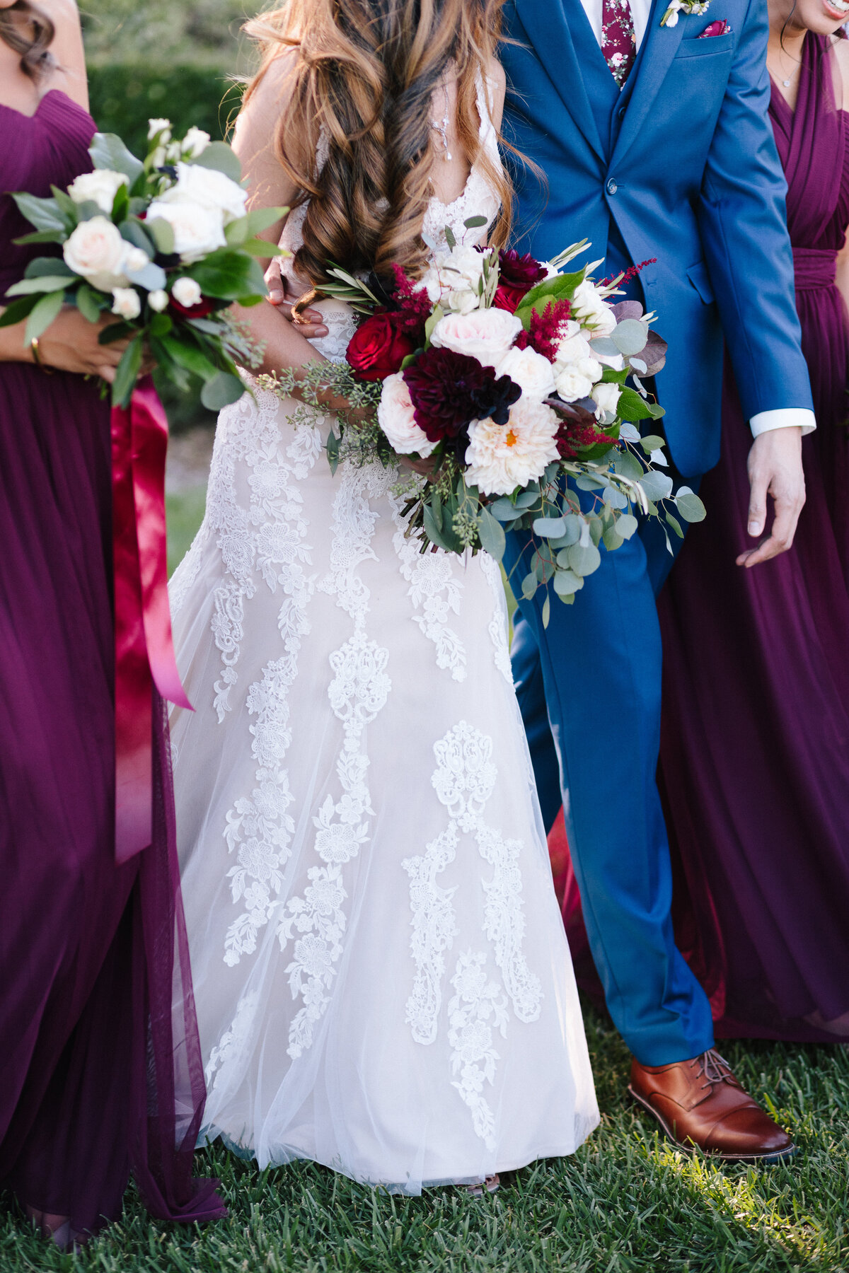 Bridal Bouquet Ponte Winery Wedding San Diego Photographer-294