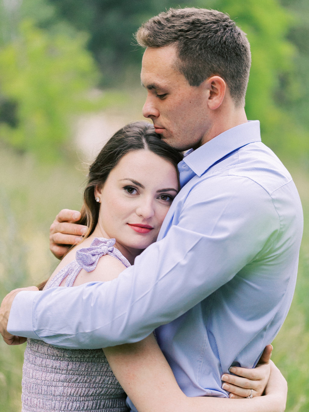 Aubrey & Joey Sedona West Fork Trail Fall Fine Art Engagement Session Ball Photo Co-26