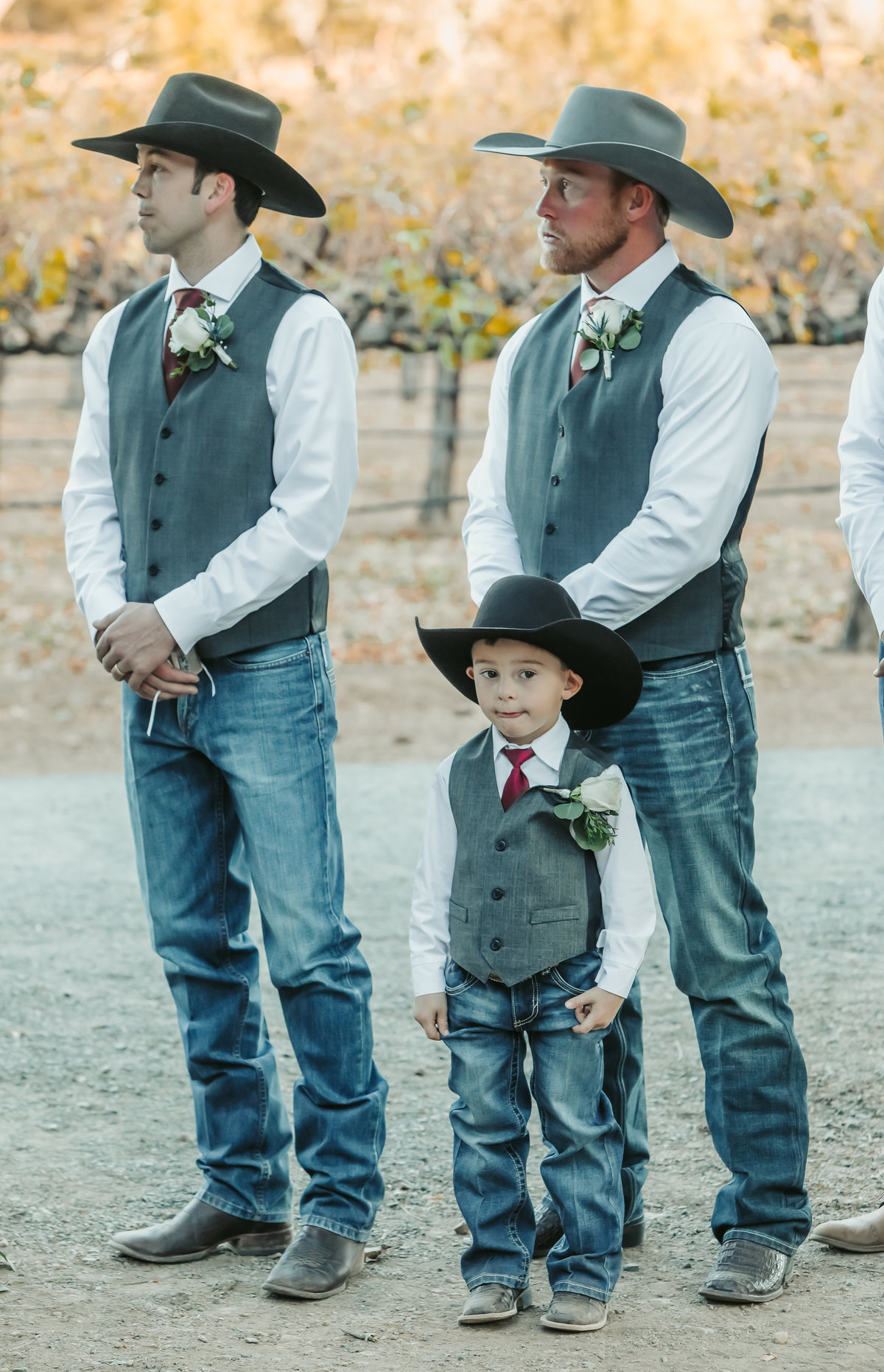cowboys wedding