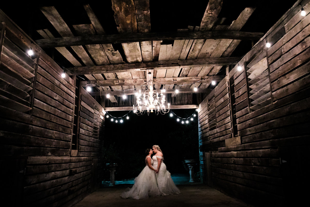 historic acres of hershey night wedding portraits