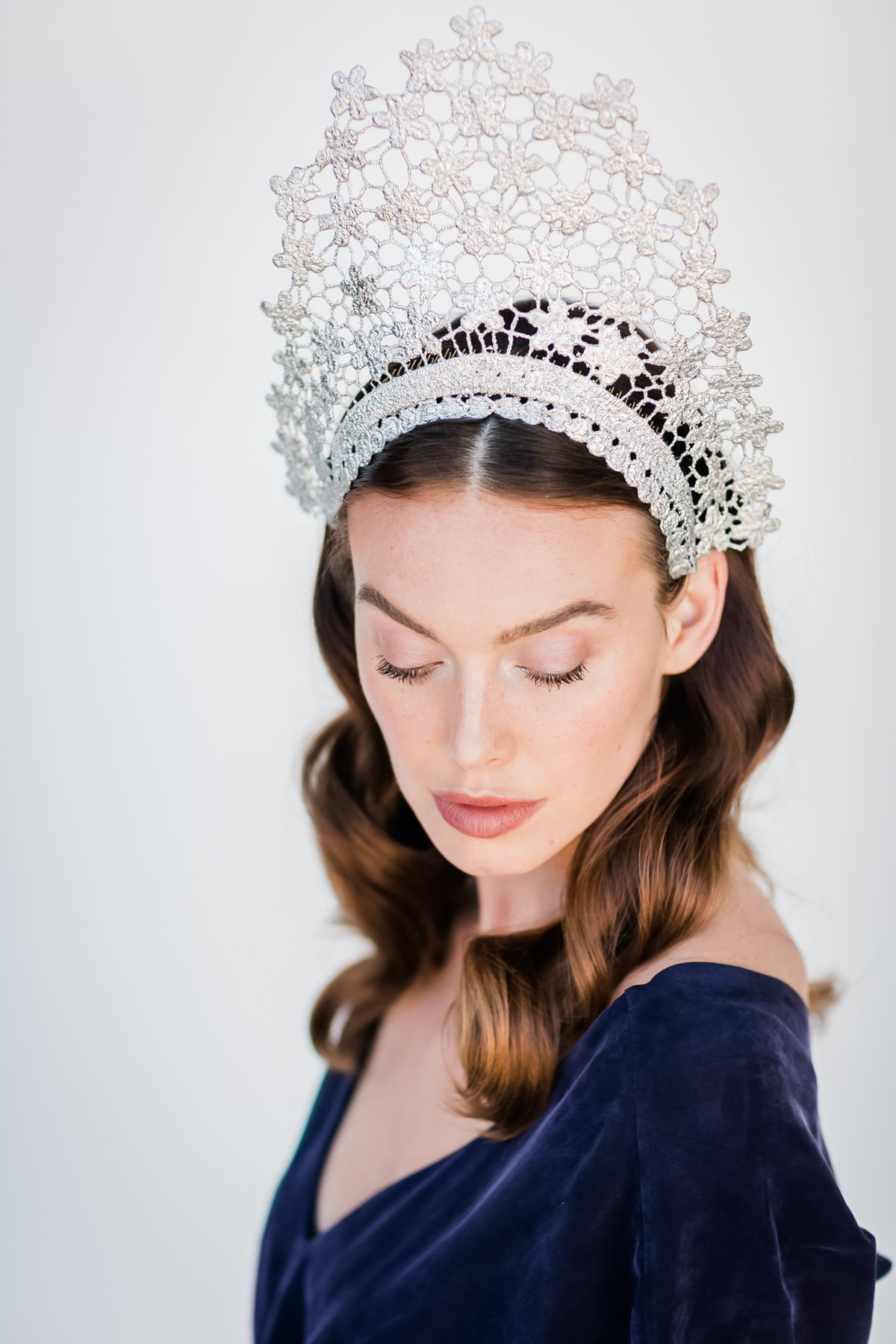 Bridal Crown Editorial Shoot Trace Henningsen Accessories_Valorie Darling Photography-7930