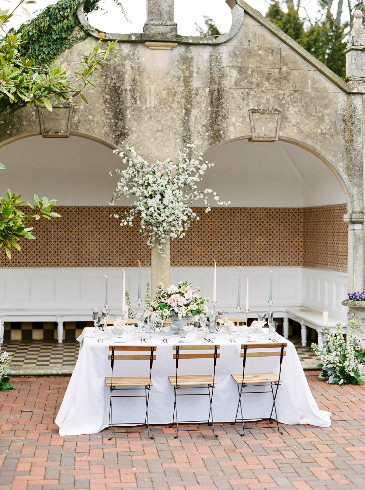 Outdoor Wedding Table Styling UK Hampshire