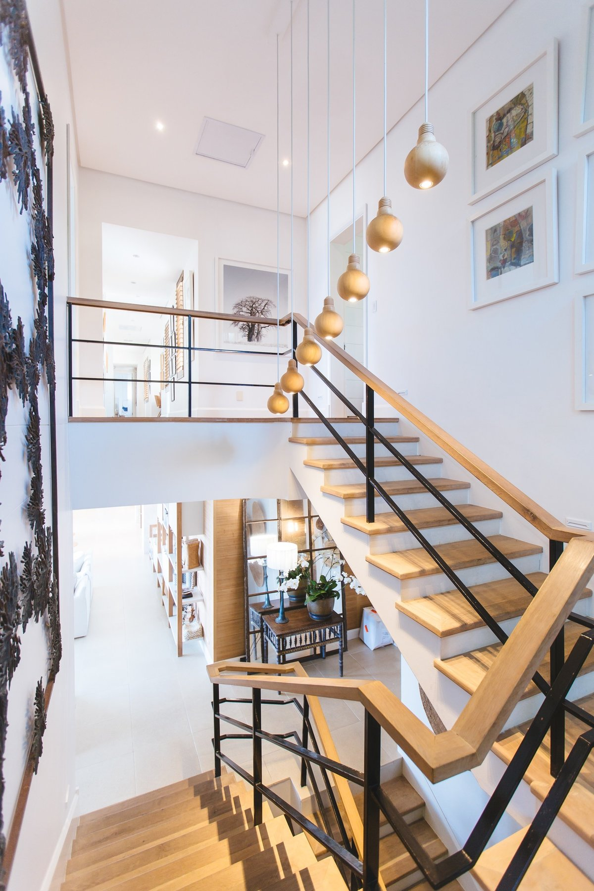 Modern staircase design home for sale Portland Oregon
